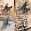 Angel Wing Silver Ring แหวนแฟชั่นโลหะ รูปปีกนก เท่ๆ สีเงิน thumbnail 2