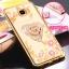 (025-248)เคสมือถือซัมซุง Case Samsung C5 Pro เคสนิ่มใสลายดอกไม้ประดับเพชรพร้อมแหวนโลหะสวยๆ thumbnail 11