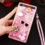 (549-001)เคสมือถือ Case Huawei P8 Lite เคสพลาสติกใส Glitter ทรายดูดหัวใจ thumbnail 9