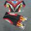 ชุด Ultraman Ginga S - ชุดแฟนซีอุลตร้าแมนกิงกะ เอส (งานลิขสิทธิ์) 3 ชิ้น เสื้อ กางเกง & หน้ากากให้คุณหนูๆ ได้ใส่ตามจิตนาการ ผ้ามัน Polyester ใส่สบายค่ะ หรือจะใส่เป็นชุดนอนก็ได้ค่ะ size S, M, L, XL thumbnail 1