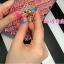 (442-008)เคสมือถือ Case OPPO R9 Plus เคสนิ่มใสขอบชุบแววลายโมเสคแก้ว thumbnail 3