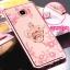 (025-248)เคสมือถือซัมซุง Case Samsung C5 Pro เคสนิ่มใสลายดอกไม้ประดับเพชรพร้อมแหวนโลหะสวยๆ thumbnail 15