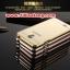 (025-166)เคสมือถือออปโป้ OPPO Joy 3 เคสกรอบโลหะพื้นหลังอะคริลิคเคลือบเงาทองคำ 24K thumbnail 1