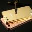 (025-029)เคสมือถือ Case OPPO Mirror 5 lite เคสกรอบโลหะพื้นหลังอะคริลิคเคลือบเงาทองคำ 24K thumbnail 1