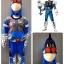 Masked Rider Fourze- Cosmic (งานลิขสิทธิ์) ชุดแฟนซีเด็กมาสค์ไรเดอร์โฟร์เซ่ - คอสมิค 3 ชิ้น เสื้อ กางเกง & หน้ากาก ให้คุณหนูๆ ได้ใส่ตามจิตนาการ หรือจะใส่เป็นชุดนอนก็ได้ค่ะsize S, M, L, XL thumbnail 1