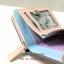 กระเป๋าสตางค์ใบสั้น QQ Mouse สีชมพู ขนาด 2 พับ thumbnail 5