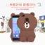 (013-027)เคสมือถือ Case Huawei P9 Lite เคสนิ่มหมีบราวน์ 3D thumbnail 1