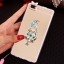 (025-592)เคสมือถือ Case Huawei P8 Lite เคสนิ่มแววหรูติดคริสตัล พร้อมเซทแหวนเพชรวางโทรศัพท์ และสายคล้องคอกดแยกออกได้ thumbnail 8
