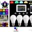 LED Wifi Bulb 6w RGB 4 หลอด พร้อมรีโมทและคอนโทรลเลอร์ thumbnail 2