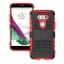 (002-124)เคสมือถือ Case LG G5 เคสนิ่ม+พื้นหลังประกบแบบพลาสติก+มีขาตั้งสไตล์กันกระแทก thumbnail 12