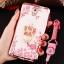 (598-001)เคสมือถือซัมซุงโน๊ต Note3 Neo เคสนิ่มซิลิโคนใสลายหรูติดคริสตัล พร้อมแหวนเพชรวางโทรศัพท์ และสายคล้องคอกดแยกออกได้ thumbnail 3