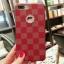 (436-334)เคสมือถือไอโฟน Case iPhone 7 Plus/8 Plus เคสพลาสติกลายสก๊อตขอบทอง thumbnail 3