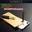 (025-153)เคสมือถือ Case Huawei P8 เคสกรอบโลหะพื้นหลังอะคริลิคเคลือบเงาทองคำ 24K thumbnail 4