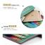 กระเป๋าสตางค์ใบยาว ประดับเข็มกลัดตัว H สี Pink หนัง PU นิ่ม thumbnail 5