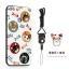 (025-880)เคสมือถือ Case Huawei P9Lite/G9Lite เคสนิ่มซิลิโคนลายน่ารักพร้อมแหวนมือถือและสายคล้องคอถอดแยกได้ thumbnail 5