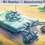 1/35 M1 PANTHER II MINECLEARING TANK thumbnail 1