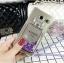 (442-040)เคสมือถือซัมซุง Case Samsung A9 Pro เคสนิ่มใสสะท้อนแสงแฟลชแฟชั่นสไตล์ตู้น้ำกากเพชรขวดน้ำหอม thumbnail 2