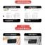 (039-060)ฟิล์มกระจก Huawei P8 Lite รุ่นปรับปรุงนิรภัยเมมเบรนกันรอยขูดขีดกันน้ำกันรอยนิ้วมือ 9H HD 2.5D ขอบโค้ง thumbnail 6