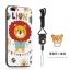 (025-682)เคสมือถือไอโฟน Case iPhone7 Plus/iPhone8 Plus เคสนิ่มซิลิโคนลายน่ารักพร้อมแหวนมือถือและสายคล้องคอถอดแยกได้ thumbnail 4