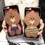 (025-571)เคสมือถือไอโฟน Case iPhone7 Plus/iPhone8 Plus เคสนิ่มลายหมี พร้อมสายคล้องคอแบบถอดแยกได้ thumbnail 1