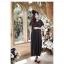 black Pocket Maxi Dress เดรสยาวแขนสั้น สีดำ (ใส่เป็นชุดคลุมท้องได้ค่ะ) thumbnail 1