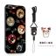 (025-682)เคสมือถือไอโฟน Case iPhone7 Plus/iPhone8 Plus เคสนิ่มซิลิโคนลายน่ารักพร้อมแหวนมือถือและสายคล้องคอถอดแยกได้ thumbnail 7