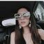 แว่นกันแดดแฟชั่น Oversize Transparent Gray 5702 53-25 140 <เทา> thumbnail 12