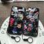 (674-015)เคสมือถือไอโฟน case iphone 5/5s/SE เคสนิ่มลายดอกไม้พื้นหลังแววๆ thumbnail 1