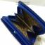 กระเป๋าสตางค์ใบสั้น ลายโบว์น่ารัก สีน้ำเงิน-ครีม (สินค้าลดราคา ตรงซิปมีรอยถลอกนิดหน่อยค่ะ) thumbnail 6