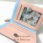 กระเป๋าสตางค์ใบสั้น QQ Mouse สีชมพู ขนาด 2 พับ thumbnail 4