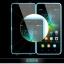 (003-010)เคสมือถือ Case Huawei Honor 4C/ALek 3G Plus (G Play Mini) เคสนิ่มขอบสี+ฝาหน้าเคสกระจกนิรภัยกันรอยกันกระแทก thumbnail 3
