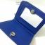 กระเป๋าสตางค์ใบสั้น ลายโบว์น่ารัก สีน้ำเงิน-ครีม (สินค้าลดราคา ตรงซิปมีรอยถลอกนิดหน่อยค่ะ) thumbnail 4