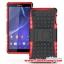 (002-069)เคสมือถือโซนี่ Case Sony Xperia Z3 เคสพลาสติกด้านในนิ่มสไตล์กันกระแทกรุ่นขอบสี thumbnail 9