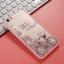 (025-200)เคสมือถือ Case OPPO A59/F1s เคสพลาสติกขอบชมพูพื้นหลังใสลายน่ารักๆประดับคริสตัล thumbnail 8