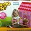 เต๊นบ้านกระต่ายน้อยของเด็กเล่น สีชมพูหวาน thumbnail 1