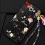 (388-106)เคสมือถือซัมซุง Case Samsung A9 Pro เคสนิ่มคลุมเครื่องลายดอกไม้แฟชั่นสวยๆ พร้อมสายคล้องมือลายดอกไม้ thumbnail 3