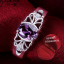 ฟรีกล่องแหวน R886 แแหวนเพชรCZ ตัวเรือนเคลือบเงิน 925 หัวแหวนเพชรczสีม่วง ขนาดแหวนเบอร์ 8 thumbnail 1