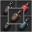 (672-001)ที่ใส่กุญแจรถยอดฮิต MG3 MG5 MG6 MG7 MGGT MGGS สุดหรูเทกเจอร์หนังทรงสวยๆ thumbnail 1