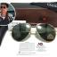 แว่นกันแดด ao skymaster aviator (china) ทอง 59-14 thumbnail 1