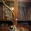 โคมไฟตั้งโต๊ะทองเหลือง รหัส231160tl thumbnail 3