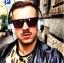 แว่นกันแดด SUPER Luciano Black thumbnail 8