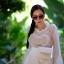 แว่นกันแดดแฟชั่น Oversize Transparent Gray 5702 53-25 140 <เทา> thumbnail 8