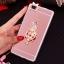 (025-592)เคสมือถือ Case Huawei P8 Lite เคสนิ่มแววหรูติดคริสตัล พร้อมเซทแหวนเพชรวางโทรศัพท์ และสายคล้องคอกดแยกออกได้ thumbnail 12