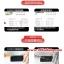 (039-042)ฟิล์มกระจก ZENFONE5 รุ่นปรับปรุงนิรภัยเมมเบรนกันรอยขูดขีดกันน้ำกันรอยนิ้วมือ 9H HD 2.5D ขอบโค้ง thumbnail 6