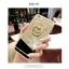 (025-706)เคสมือถือไอโฟน Case iPhone 7 Plus/8 Plus เคสขอบนิ่มพื้นหลังแววกึ่งกระจกมีแหวนมือถือรูปหมี thumbnail 3