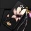 (388-106)เคสมือถือซัมซุง Case Samsung A9 Pro เคสนิ่มคลุมเครื่องลายดอกไม้แฟชั่นสวยๆ พร้อมสายคล้องมือลายดอกไม้ thumbnail 4