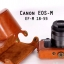 Leather Case for Canon EOS-M with EF-M 18-55 thumbnail 1