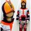 Masked Rider Faiz (งานลิขสิทธิ์) ชุดแฟนซีเด็กไอ้มดแดง มาค์ส ไรเดอร์ ไฟซ์ 3 ชิ้น เสื้อ กางเกง & หน้ากาก ให้คุณหนูๆ ได้ใส่ตามจิตนาการ ผ้ามัน Polyester ใส่สบายค่ะ หรือจะใส่เป็นชุดนอนก็ได้ค่ะ size S, M, L, XL thumbnail 1