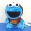 ุตุ๊กตา Cookie monster แต่งตัว จาก Sesame Street ขนาด 7 นิ้ว thumbnail 1