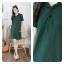 Polo dress สีเขียว thumbnail 1